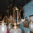 Antigüedades: LAMPARA MODERNISTA. Lote 26079488