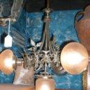 Antigüedades: LAMPARA PLATEADA. Lote 26697721