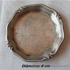 Antigüedades: BANDEJITA EN PLATA MACIZA CON AÑOS. Lote 24419177