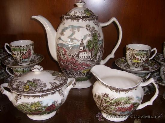 Vajilla de la famosa firma inglesa johnson bros comprar porcelana inglesa antigua bristol en - Vajilla inglesa ...
