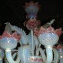 Antigüedades: LAMPARA DE CRISTAL VENECIANO. Lote 26040433