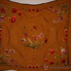 Antigüedades: EDREDON DE SOBRE CAMA. Lote 21032711