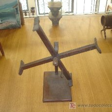 Antigüedades: DEVANADORA HILAR LANA. Lote 27081225
