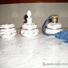 Antigüedades: ANTIGUO JUEGO DE TOCADOR. Lote 26956126