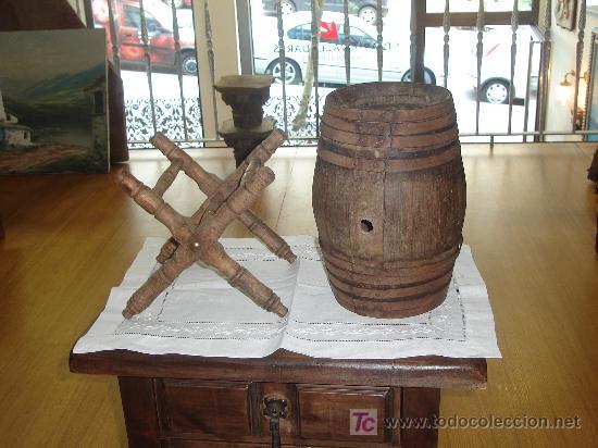 Antigüedades: Tonel barril - Foto 2 - 26785425