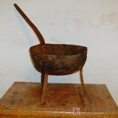 Antigüedades: SARTEN ANTIGUA. Lote 9203489