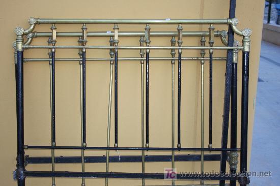 Cama hierro y laton comprar camas antiguas en for Cama hierro