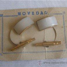 Antigüedades: GEMELOS DE BISUTERIA AÑOS 50 MODELO 6. Lote 111004383