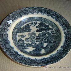 Antigüedades: PLATO DE CERAMICA ANTIGUO. Lote 9443519