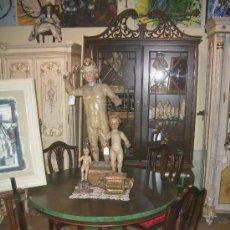Antigüedades: EXCLUSIVO COMEDOR, MUY COLOCABLE, REALIZADO PARA EXPOSICIÓN, A PRECIO DE LIQUIDACIÓN. Lote 27420745