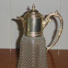 Antiquitäten - preciosa jarra de cristal tallado antigua - 17414811