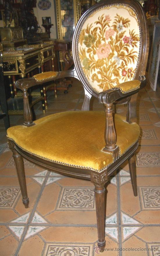 Preciosa pareja de sillones antiguos del mejor comprar - Sillones estilo vintage ...