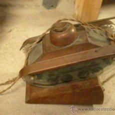 Antigüedades: LÁMPARA DE CARRO TANQUE DE LA I GUERRA MUNDIAL. Lote 20982308