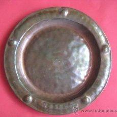 Antiguidades: PRECIOSO PLATO DE COBRE. ENVIO GRATIS¡¡¡. Lote 14481112