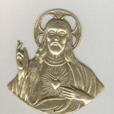 Antigüedades: FIGURA RELIGIOSA DE METAL, BRONCE. Lote 27222487