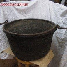 Antigüedades: CALDERO BRONCE. Lote 26937797