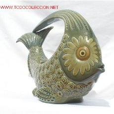 Antigüedades: FIGURA ANTIGUA DE LLADRO DE PEZ. Lote 26641812