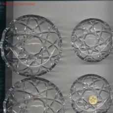 Oggetti Antichi: BOMBONERAS CRISTAL TALLADO. Lote 25013183
