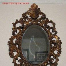 Antigüedades: ESPEJO DORADO. Lote 24083806