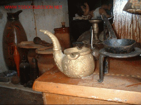 PIPA DE BRONCE CENICERO (Antigüedades - Hogar y Decoración - Ceniceros Antiguos)