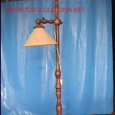 Antigüedades: LAMPARA DE PIE EXTENSIBLE. Lote 27640081