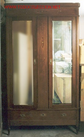 ARMARIO ART DECO (Antigüedades - Muebles Antiguos - Armarios Antiguos)