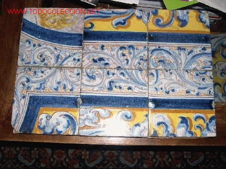2 paneles azulejos antiguos comprar azulejos antiguos en - Azulejos clasicos ...