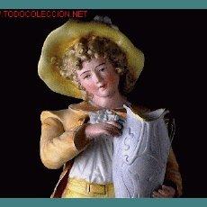 Antigüedades: PORCELANA DE BISCUIT (MODERNISTA). Lote 27418374