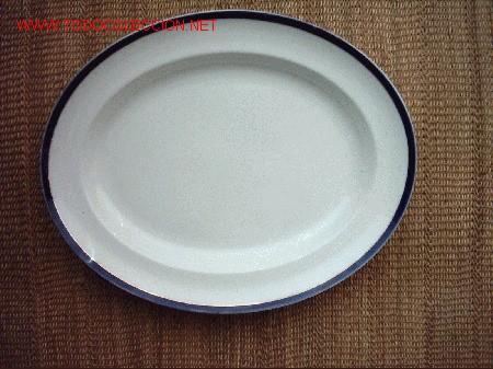 Antigua fuente de porcelana inglesa 41 x 33 cm comprar for Marcas de porcelana