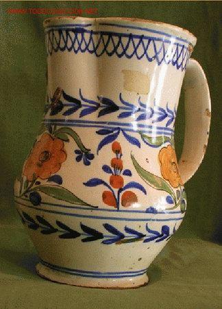 JARRA MEDIANA (Antigüedades - Porcelanas y Cerámicas - Manises)