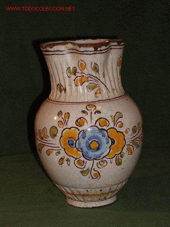 JARRA MEDIANA (Antigüedades - Porcelanas y Cerámicas - Talavera)
