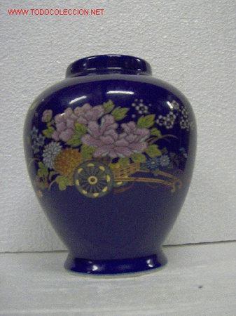 JARRÓN SATSUMA ALTURA 15 CM (Antigüedades - Porcelanas y Cerámicas - China)
