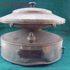 Antigüedades: ANTIGUA ESTUFA CATALITICA A BENCINA - ISOTERMIS. BARCELONA. 1927 - MUY RARA -. Lote 26993155