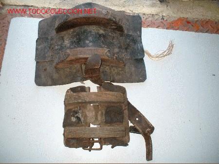 Antigüedades: sillin de burro pequeño - Foto 2 - 26446031