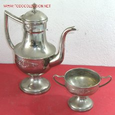Antigüedades: TETERA Y COPA ANTIGUAS. Lote 6751705