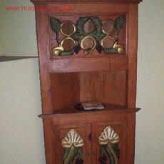 Antigüedades: MUEBLE RINCONERA. Lote 24564576
