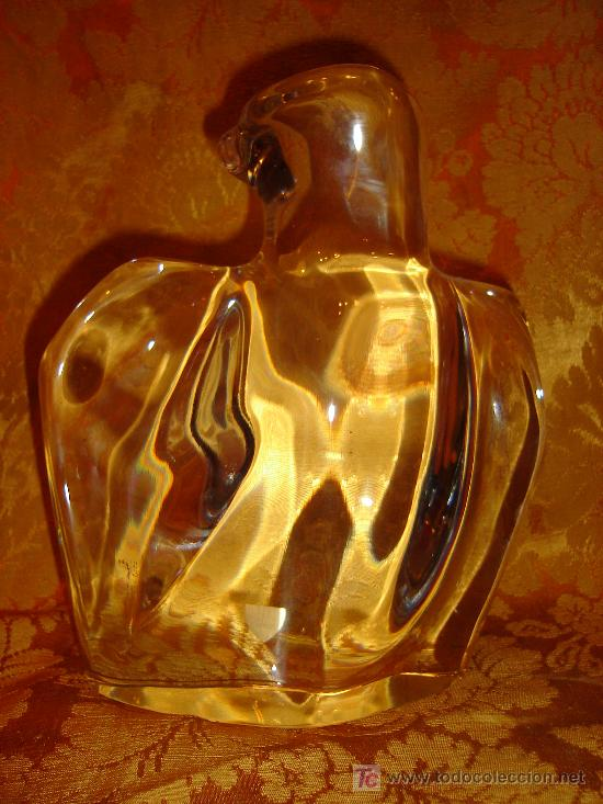AGUILA IMPERIAL EN CRISTAL ORREFORS. (Antigüedades - Cristal y Vidrio - Orrefors )