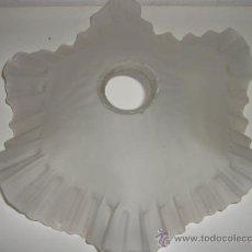 Antigüedades: TULIPA ANTIGUA DE CRISTAL 28CM. Lote 27081157