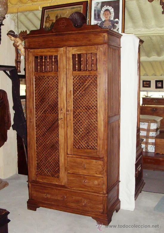 Autentico armario alacena de cocina siglo x comprar for Armarios de cocina antiguos