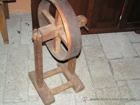 RUEDA DE HILAR (Antigüedades - Técnicas - Rústicas - Ganadería)