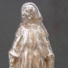 Antigüedades: VIRGEN CRISTAL AZOGUE AZOGADO PROBABLEMENTE LA GRANJA. Lote 12599263