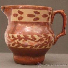 Antigüedades: JARRA CERÁMICA REFLEJO METÁLICO MANISES S XIX. Lote 9911741