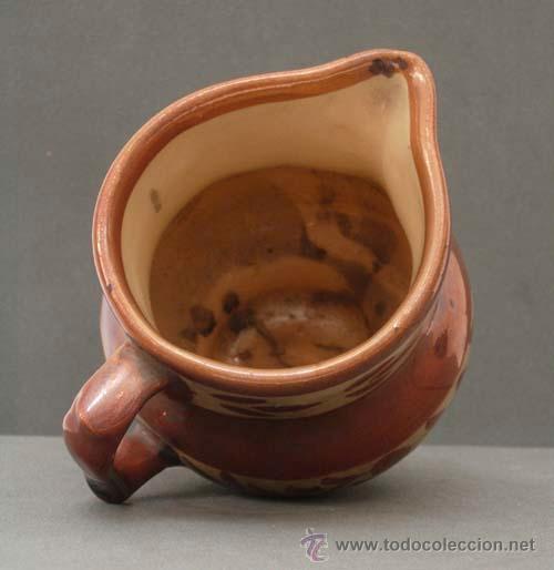 Antigüedades: Jarra cerámica reflejo metálico Manises S XIX - Foto 4 - 9911741