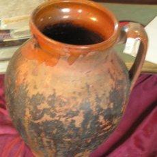 Antigüedades: CANTARO DE BARRO. Lote 25950242