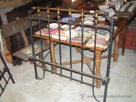 Antigua cama de hierro y lat n comprar camas antiguas en todocoleccion 26706535 - Camas de hierro antiguas ...