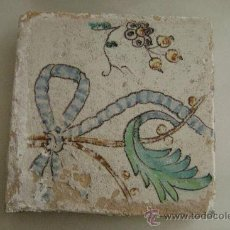 Antigüedades: AZULEJO VALENCIANO SIGLO XVIII. Lote 18285042