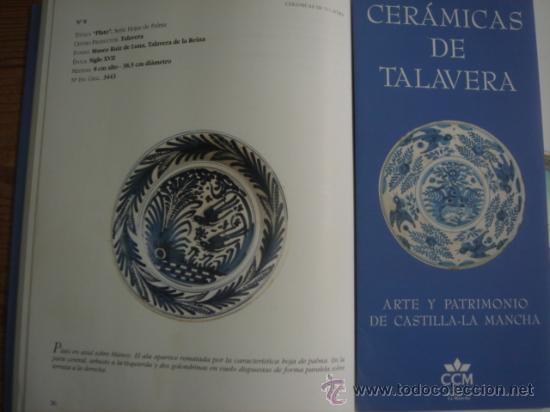 Antigüedades: PLATO DE TALAVERA. S. XVII. SERIE HOJAS DE PALMA. DIÁMETRO: 41 CMS. ALTURA: 9.5 CMS. - Foto 7 - 26132052