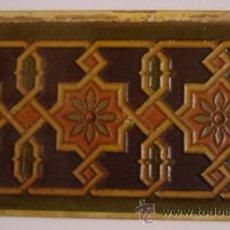 Antigüedades: AZULEJ0 DE CARTON PIEDRA. Lote 24174199