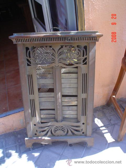 ESTUFA DE COBRE (Antigüedades - Técnicas - Rústicas - Utensilios del Hogar)
