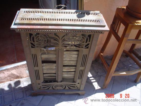 Antigüedades: ESTUFA DE COBRE - Foto 4 - 26646643